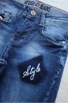 Джинсы A-yugi Jeans 104 см Синий (2125000655543) - изображение 3