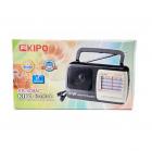 Аккумуляторный радиоприемник FM приемник Чёрный Kipo (KB-408AC) - изображение 4