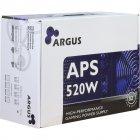 Блок живлення ПК Argus 520W (APS-520W) - зображення 4