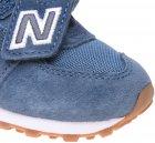 Кроссовки кожаные New Balance 574 IV574PRN 20.5 (5.5) 12 см Синие (194182269550) - изображение 9