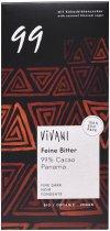 Шоколад Vivani черный органический 99% какао 80 г (4044889002904) - изображение 1