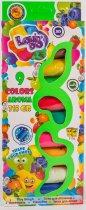 Набор теста для лепки Lovin'Do Ассорти 9 цветов Арома + Ассорти 4 цвета с глиттером 20 г + 4 цвета Неон 20 г (41081) - изображение 2