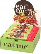 Упаковка батончиков EatMe зерновых с ревенем и вишней 30 г х 10 шт (4820097898542) - изображение 1