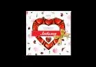 Упаковка конфет Любимов Сердечки в молочном шоколаде 125 г х 14 шт (4820005195152) - изображение 3