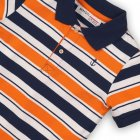 Поло Minoti Club 4 7923 74-80 см Синее с оранжевым и белым (5059030012182) - изображение 3