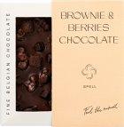 Шоколад Spell черный с клюквой и шоколадным печеньем 85 г (4820207311008) - изображение 1