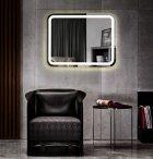 Зеркало ASIGNATURA Intense 100 см с линзой и LED-подсветкой (65431800) - изображение 2