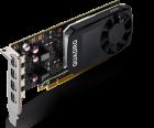 PNY PCI-Ex NVIDIA Quadro P1000V2 4GB GDDR5 (128bit) (1265/5001) (4 x miniDisplayPort) (VCQP1000V2-SB) - изображение 2