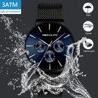 Стильные Мужские наручные часы MegaLith Boss Limited - изображение 8