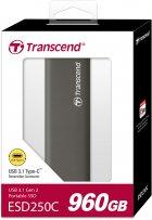 Transcend ESD250C 960GB USB 3.1 Type-C TLC (TS960GESD250C) External - изображение 9