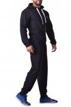 Мужские спортивные штаны зауженные из хлопка с карманами Berserk Sport Premium black P0923B M 2291000000086 - изображение 4