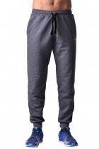 Чоловічі спортивні штани, завужені з бавовни з кишенями Berserk Sport Premium dark grey P0026D L 2275900000018 - зображення 1