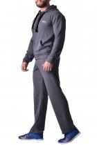 Чоловічі спортивні штани з бавовни з кишенями Berserk Sport Pragmatic dark grey P5196G M 2268710000026 - зображення 4