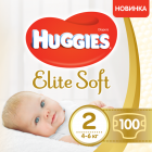 Подгузники Huggies Elite Soft Giga 2 4-6 кг 100 шт (5029053548517) - изображение 1