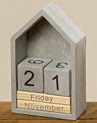 Настольный вечный календарь домик h22см Гранд Презент 1004254 - изображение 2