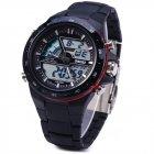 Чоловічий годинник Skmei 1016BOXBKRD Black/Red BOX - зображення 2