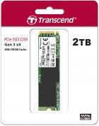 Transcend SSD MTE220S 2TB M.2 PCIe Gen 3.0 3D NAND (TS2TMTE220S) - зображення 2