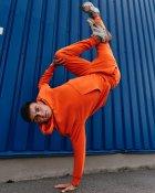 Спортивные штаны Over Drive Jog оранжевые M - изображение 5