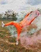 Спортивные штаны Over Drive Jog оранжевые M - изображение 8