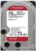 "Жесткий диск Western Digital Red 3TB 5400rpm 256МB WD30EFAX 3.5"" SATA III - изображение 1"