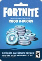Fortnite: 2800 В-баксів (2500 + 300 V-BUCKS) | Всі платформи - зображення 1