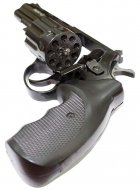 """Револьвер флобера Zbroia PROFI-4.5"""" (чёрный / пластик) - изображение 5"""