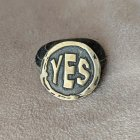 """Бронзова монетка оракул """"Yes/No"""" ручна робота 1055А - зображення 1"""