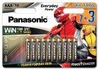 Батарейки Panasonic Everyday Power щелочные AAA блистер 10 шт Power Rangers (LR03REE/10B3FPR) - изображение 1