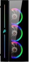 Корпус 1STPLAYER B7-A-R1 Color LED Black без БП - изображение 3