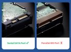 """Зовнішній кишеню Ugreen для HDD 2.5"""" USB 3.0 SATA інтерфейс з Підтримкою Гарячої Заміни Жорсткого диска. - зображення 3"""