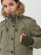 Куртка Brandit Ladies Layla Girls Parka 9385.1-M Зеленая (4051773059814) - изображение 4