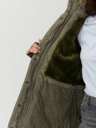 Куртка Brandit Ladies Layla Girls Parka 9385.1-M Зеленая (4051773059814) - изображение 5