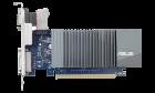 Відеокарта Asus GeForce GT 710 1GB GDDR5 (32bit) (954/5012) (VGA, DVI, HDMI) (GT710-SL-1GD5-BRK) - зображення 1