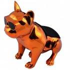 Bluetooth-колонка Aerobull S4 BIG DOG METALLIC c радіо USB , золота - зображення 2