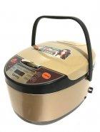 Мультиварка с фритюрницей и дисплеем Rainberg RB-6207 Золотая 1500 Ватт, 6 литров, 12 программ - изображение 1