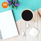 Навушники Motorola Verve Buds 100 White TWS (SH052 WH) - зображення 8