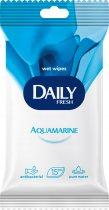 Упаковка вологих серветок Daily Fresh Aquamarine універсальних 15 пачок по 15 шт. (42228105) - зображення 2