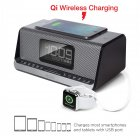 iHome IBN350G, Qi Wireless Charging, BT, NFC, USB, Aux Mic - изображение 6