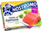 Лосось Nostromo в оливковом масле 110 г (8005850186500) - изображение 1