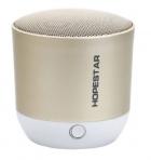Беспроводная колонка HOPESTAR H9 с микрофоном + Bluetooth 3.0 встроенным радио 3 Вт Золотая (11342) - изображение 1