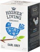 Чай Higher Living чёрный органический Earl Grey 20 пакетиков (5060319120108) - изображение 1