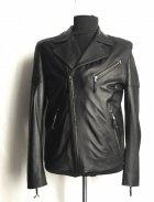 Куртка из натуральной кожи Belyaev Косуха 23 50 чёрная - изображение 1