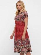 Платье VLAVI Лорен 1189239 54 Акварель Бордо (11892394) - изображение 2