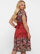 Платье VLAVI Лорен 1189239 54 Акварель Бордо (11892394) - изображение 5