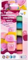 Набор Genio Kids-Art для детской лепки Тесто-пластилин 6 цветов. Зефирные цвета (TA1089) (4814723007415) - изображение 1