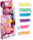 Набор Genio Kids-Art для детской лепки Тесто-пластилин 6 цветов. Зефирные цвета (TA1089) (4814723007415) - изображение 3