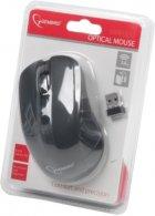 Мышь Gembird MUSW-201 беспроводная, Black USB - изображение 4