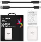 "ADATA SC685 250GB 2.5"" USB 3.2 Type-C 3D NAND TLC White (ASC685-250GU32G2-CWH) External - зображення 5"