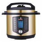 Мультиварка с антипригарным покрытием 10 в 1 YUMMY YPC-602G 65 программ 1200 Вт скороварка выпечка хлеб духовка су вид копчение мультиповар - изображение 1