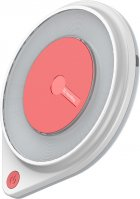 Беспроводное зарядное устройство СolorWay Qi Fast Charger (10W) с LED ночником White (CW-CHW20Q-WT) - изображение 5